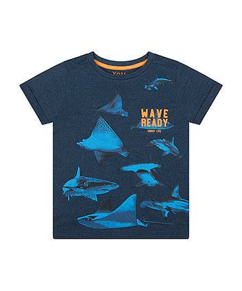 Mothercare Wave Ready T-Shirt