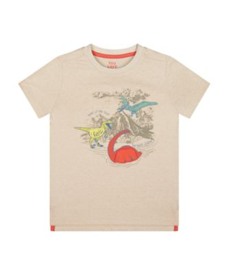 Mothercare Easy Vibes Dinosaur Lift-The-Flap Short Sleeve T-Shirt