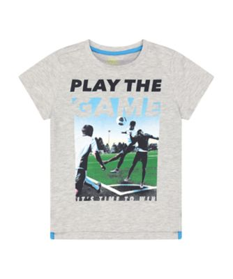 Mothercare Sport Pop Play The Game Short Sleeve T-Shirt