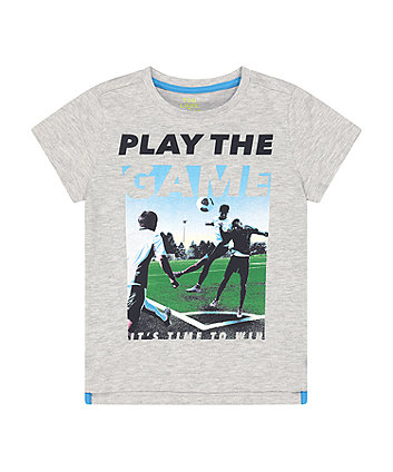 Mothercare Fashion Play The Game T-Shirt