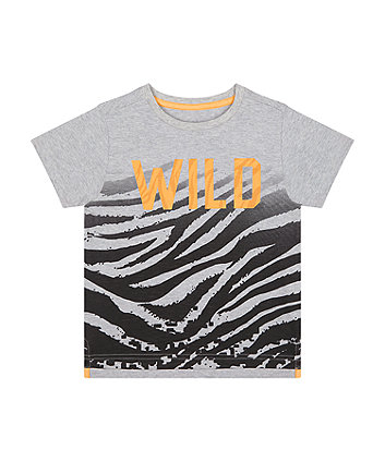 Mothercare Wild Tiger-Stripe T-Shirt