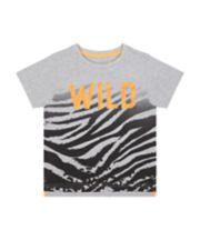 Mothercare Wild Tiger-Stripe T-Shirt