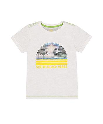 Mothercare Fashion South Beach Sequin T-Shirt
