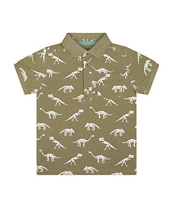 Mothercare Dinosaur Polo Shirt