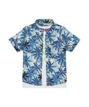 Mothercare Palm Shirt And T-Shirt Set
