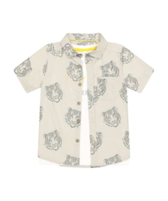 Mothercare Urban Tropics Tiger Short Sleeve Shirt And T-Shirt Set