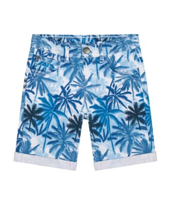 Mothercare Dream Surfer Palm Printed Twill Short