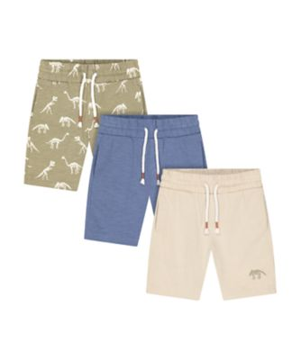 Mothercare Easy Vibes Shorts - 3 Pack