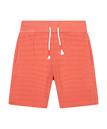 Mothercare Rust Jacquard Shorts