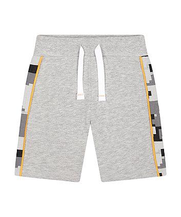 Mothercare Side-Stripe Jersey Shorts