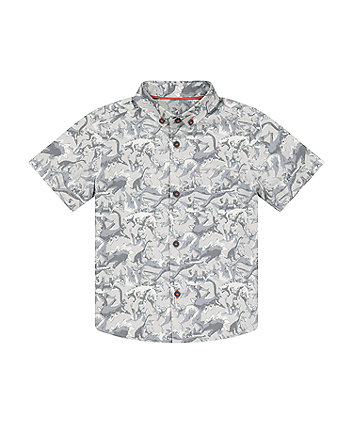 Mothercare Grey Dinosaur Shirt