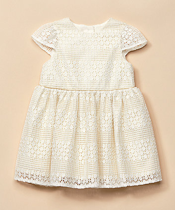 Cream Lace Occasion Dress [SS21]