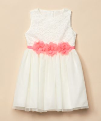 Mothercare Special Collection Corsage Belt Occasion Dress