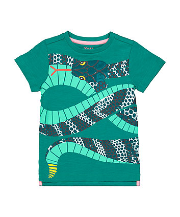 Mothercare Green Snake T-Shirt