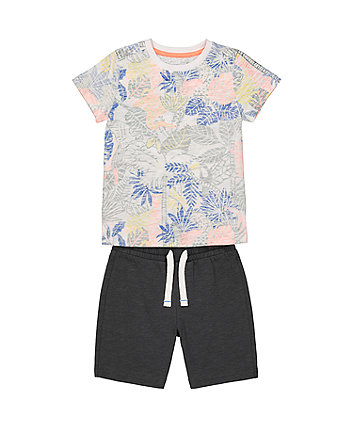 Mothercare Tropical Shorts And T-Shirt Set