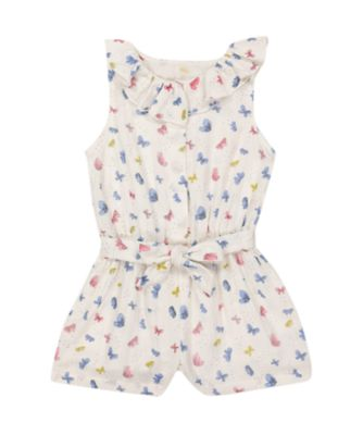 Mothercare Oriental Bloom Butterfly Allover Print Playsuit