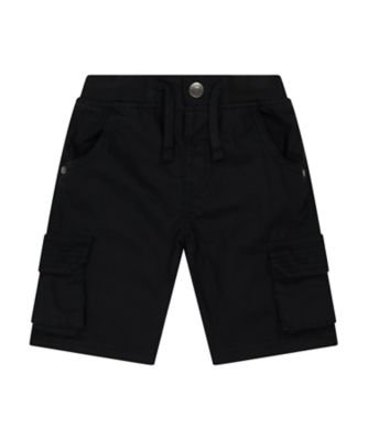 Mothercare Urban Tropics Black Cargo Shorts
