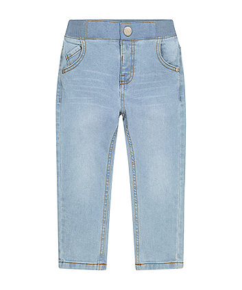 Mothercare Bleach Wash Ribwaist Jeans