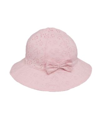 Mothefcare Pink Broidery Sunhat