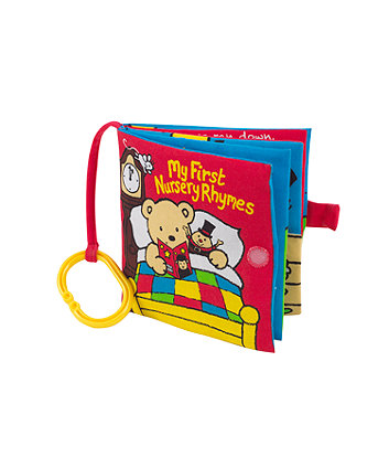 Mothercare My First Nursery Rhymes Soft Book