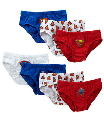 Superman Briefs - 7 Pack - Superman Gifts