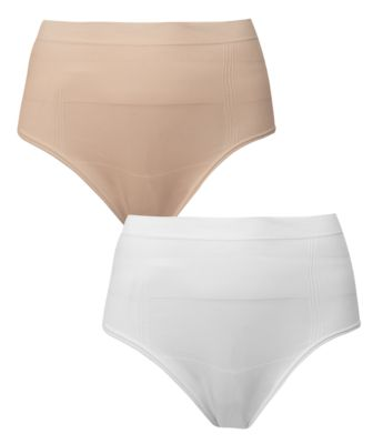 Mothercare Maternity White/Nude Csect Seam free Briefs - 2 Pack
