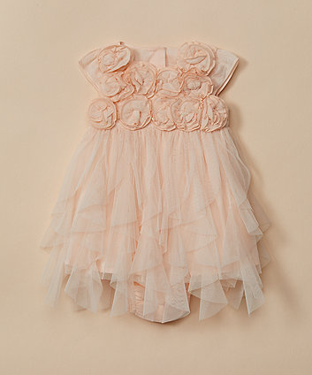 Mothercare Mesh Flower Dress