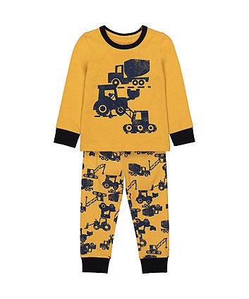 Mothercare Tractor Pyjamas