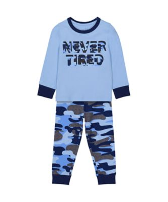 Mothercare Boys Never Tired EPP Pyjamas