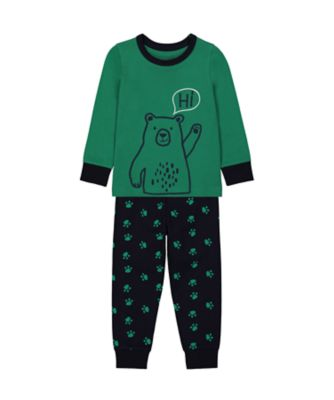Mothercare Boys Hi Said Bear EPP Pyjamas