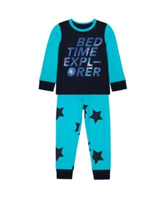 Mothercare Boys Bedtime Explorer Epp Pyjamas
