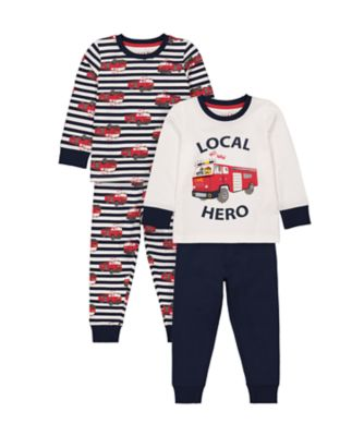 Mothercare Boys Local Her Pyjamas - 2 Pack