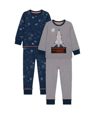Mothercare Boys Out of This Work Pyjamas - 2 Pack