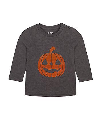 Mothercare Pumpkin Halloween T-Shirt