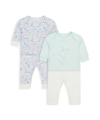 Mothercare Girls Little Bunny Pyajamas - 2 Pack