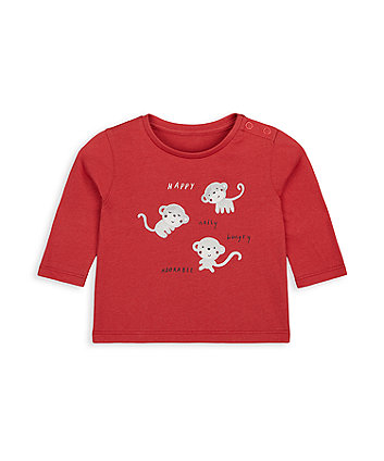 Mothercare Little Monkey T-Shirt