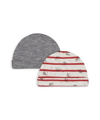 Mothercare Boys Monkey Hats - 2 Pack