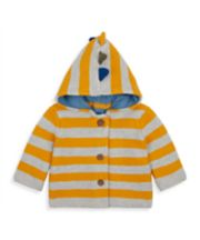 Mothercare Dinosaur Novelty Knitted Cardigan