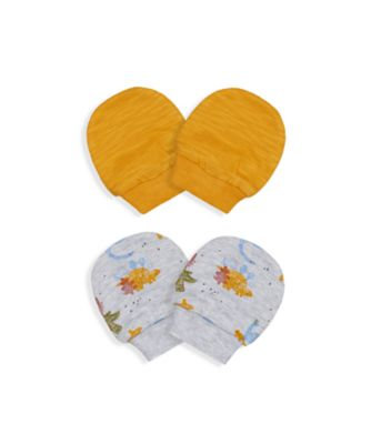 Mothercare Boy Autumn Dino Mitts - 2 Pack