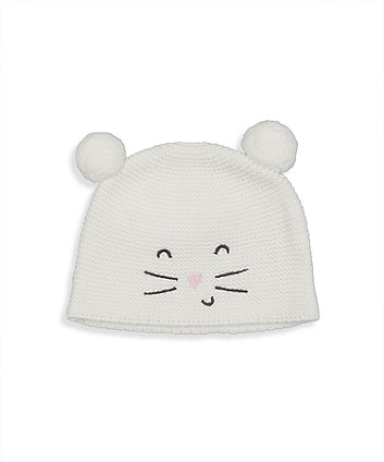 Mothercare Knitted Mouse Hat