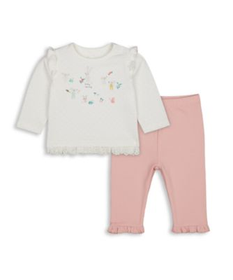Mothercare Harvest Mouse T-Shirt And Legging Set