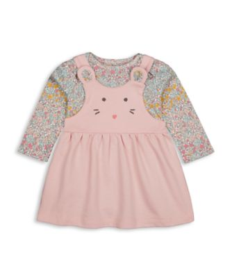 Mothercare Harvest Mouse Novelty Pinny Set With Bodysuit