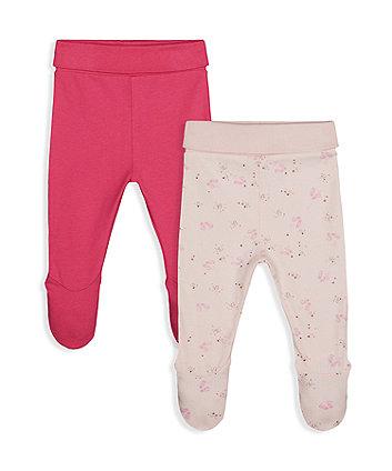 Mothercare Ballet Shoe Leggings - 2 Pack