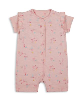 Mothercare Harvest Mouse Pink Allover Print Romper