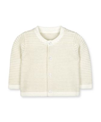Mothercare My First Unisex - Little Zoo Purl Knit Cardigan