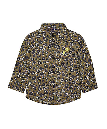 Mothercare Leopard-Print Shirt