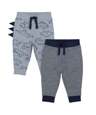 Mothercare Geo Dino Loopback Jogger - 2 Pack