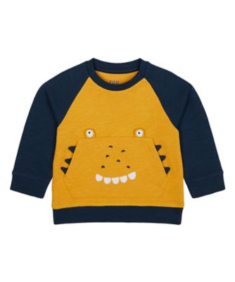 Mothercare Geo Dino Must Novelty Loopback Sweater