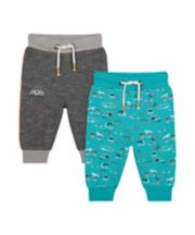 Mothercare Vehicle Joggers - 2 Pack