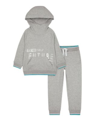 Mothercare Space Arcade Grey Future Hoody And Jogger Set
